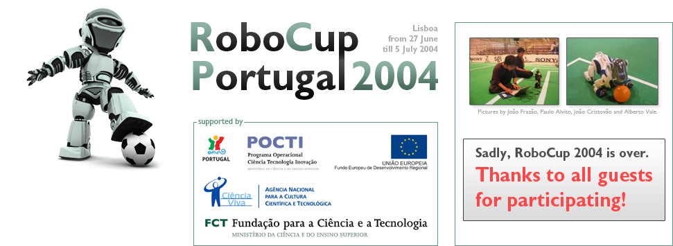 RoboCup 2004 &#8211; Portugal